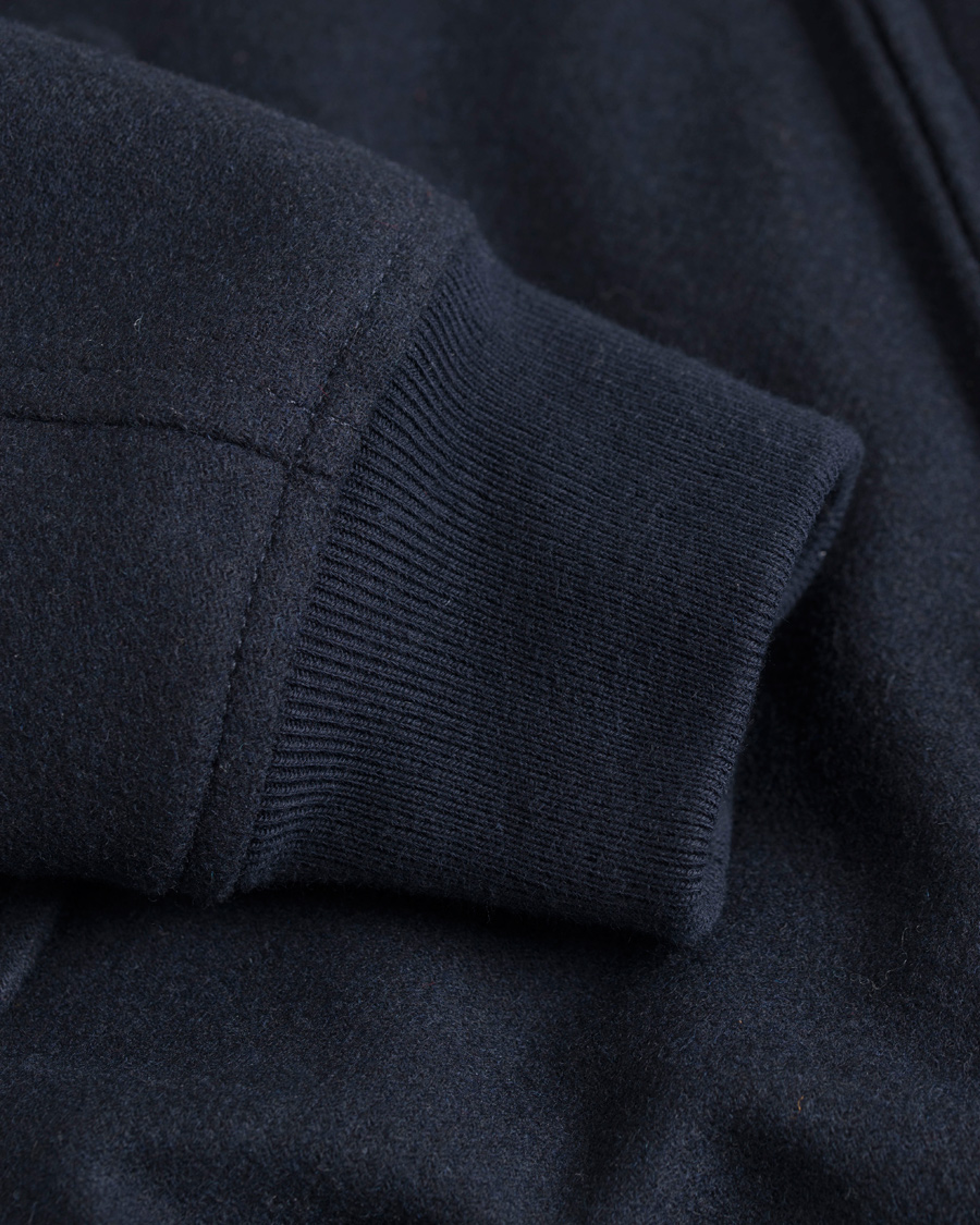 74bc628a Baracuta G9 Original Harrington Wool Jacket Marine hos CareOfCarl