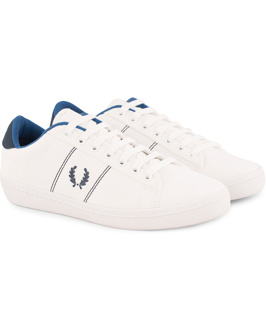 Fred Perry Hughes Low Canvas Sneaker Light Ecru