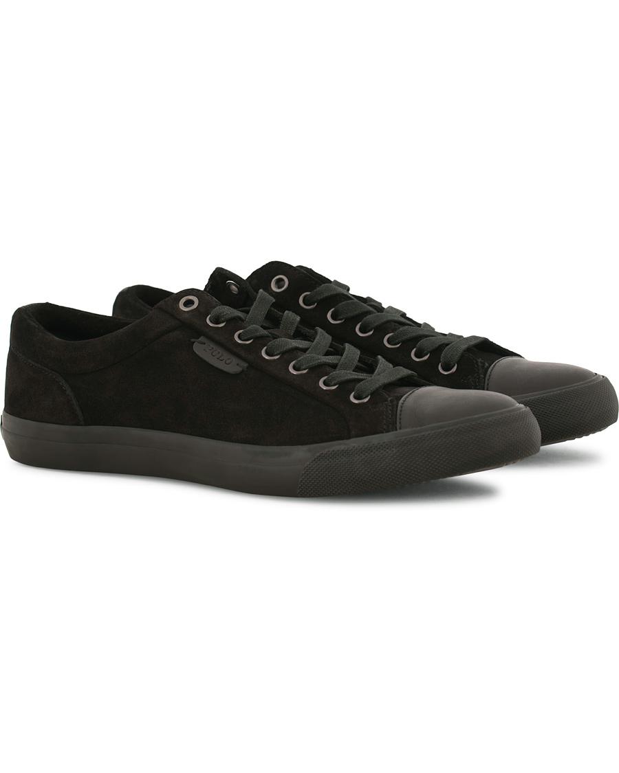 Polo Ralph Lauren Geffrey Sneaker Black Suede hos CareOfCarl.dk