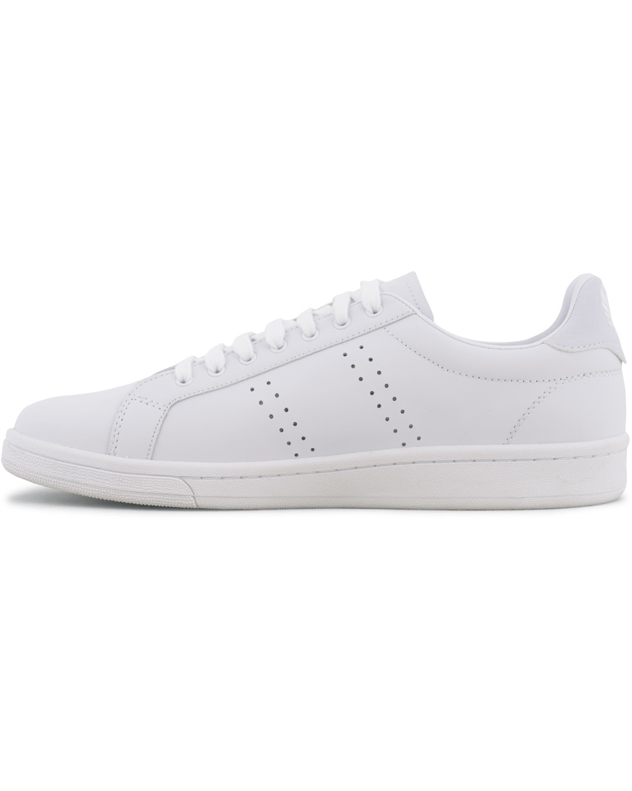 Fred Perry Parkside Leather Sneaker White hos CareOfCarl.dk