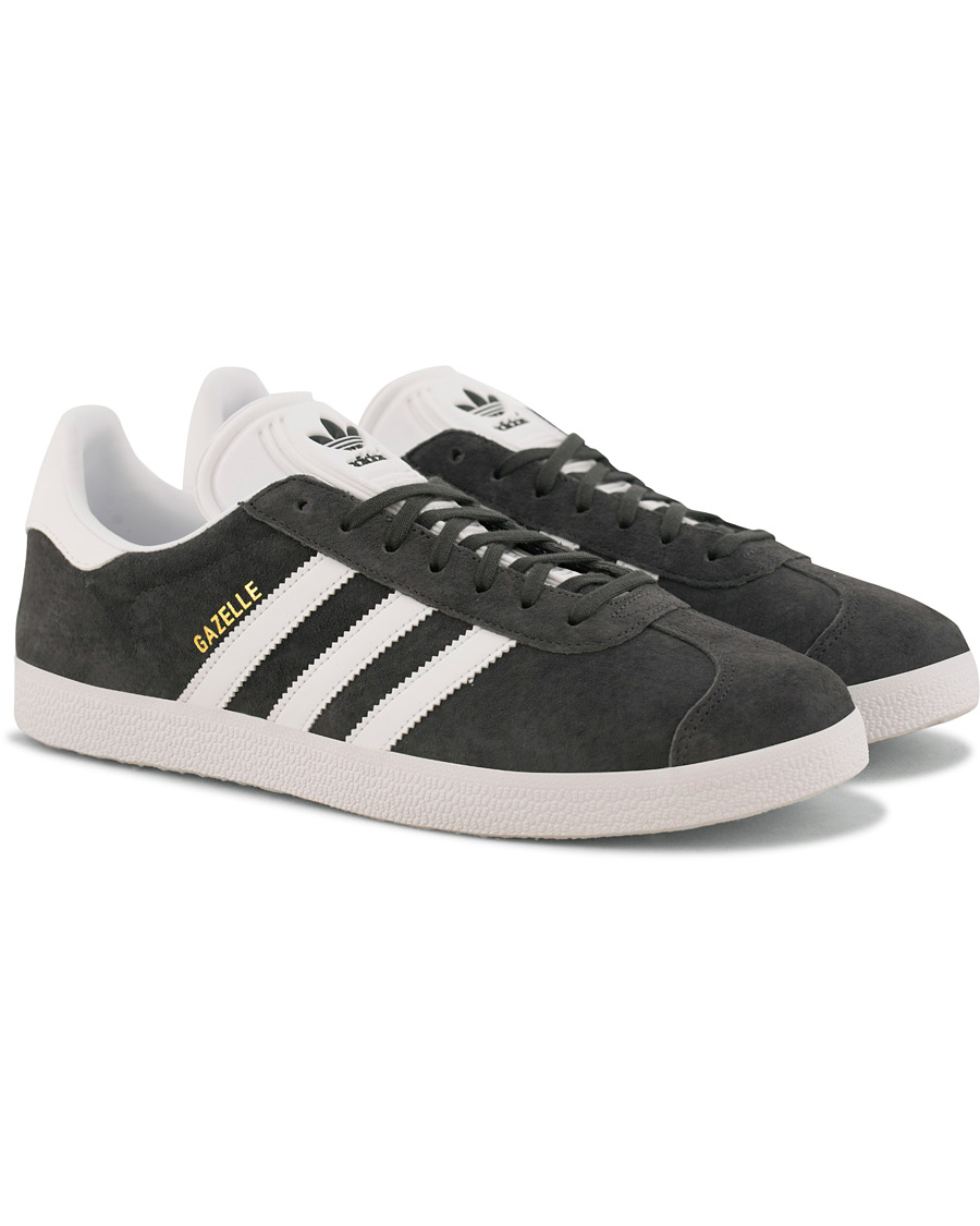 Adidas Originals Gazelle Nubuck Sneaker Grey