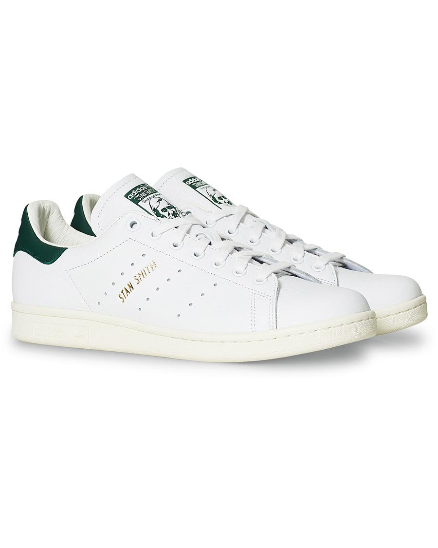 ae9c64f7 Adidas Originals Stan Smith Leather Sneaker White/Green hos CareO