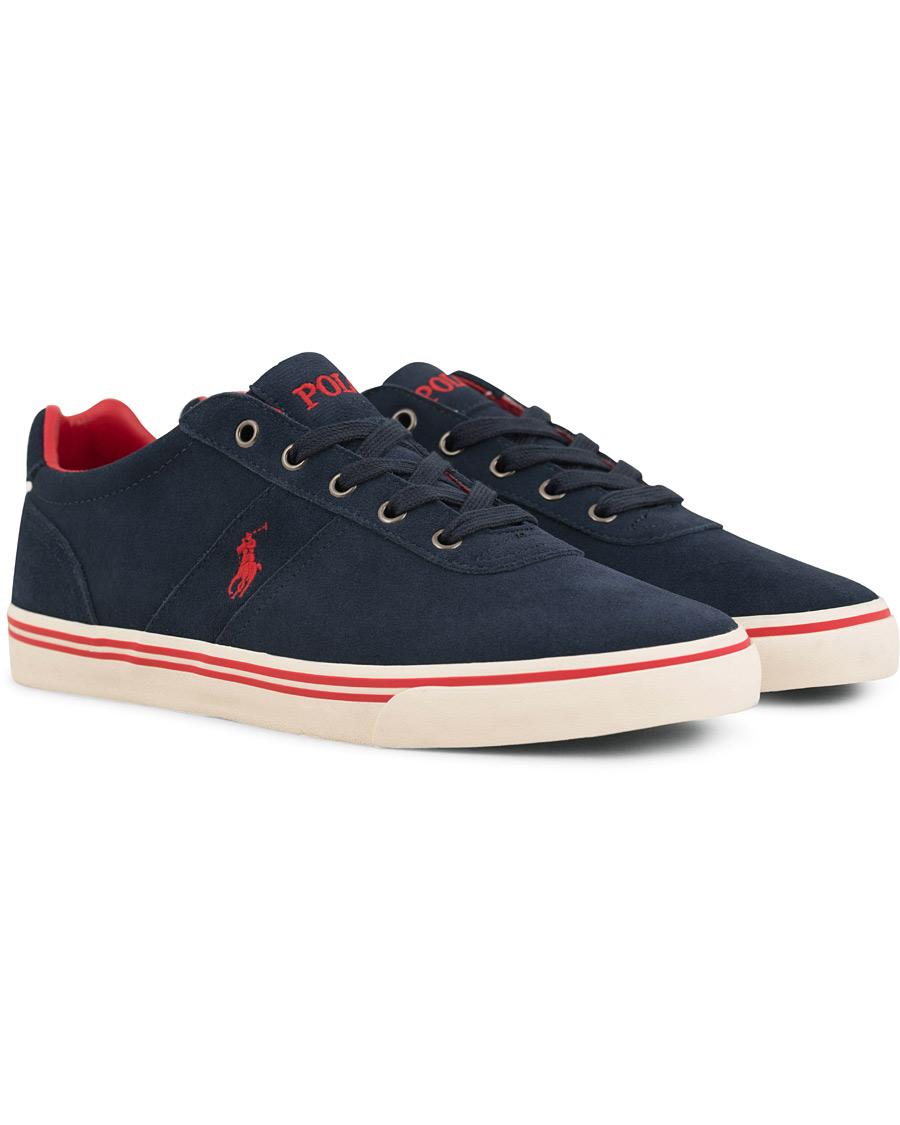 0456e587 Polo Ralph Lauren Hanford Suede Sneaker Navy hos CareOfCarl.dk
