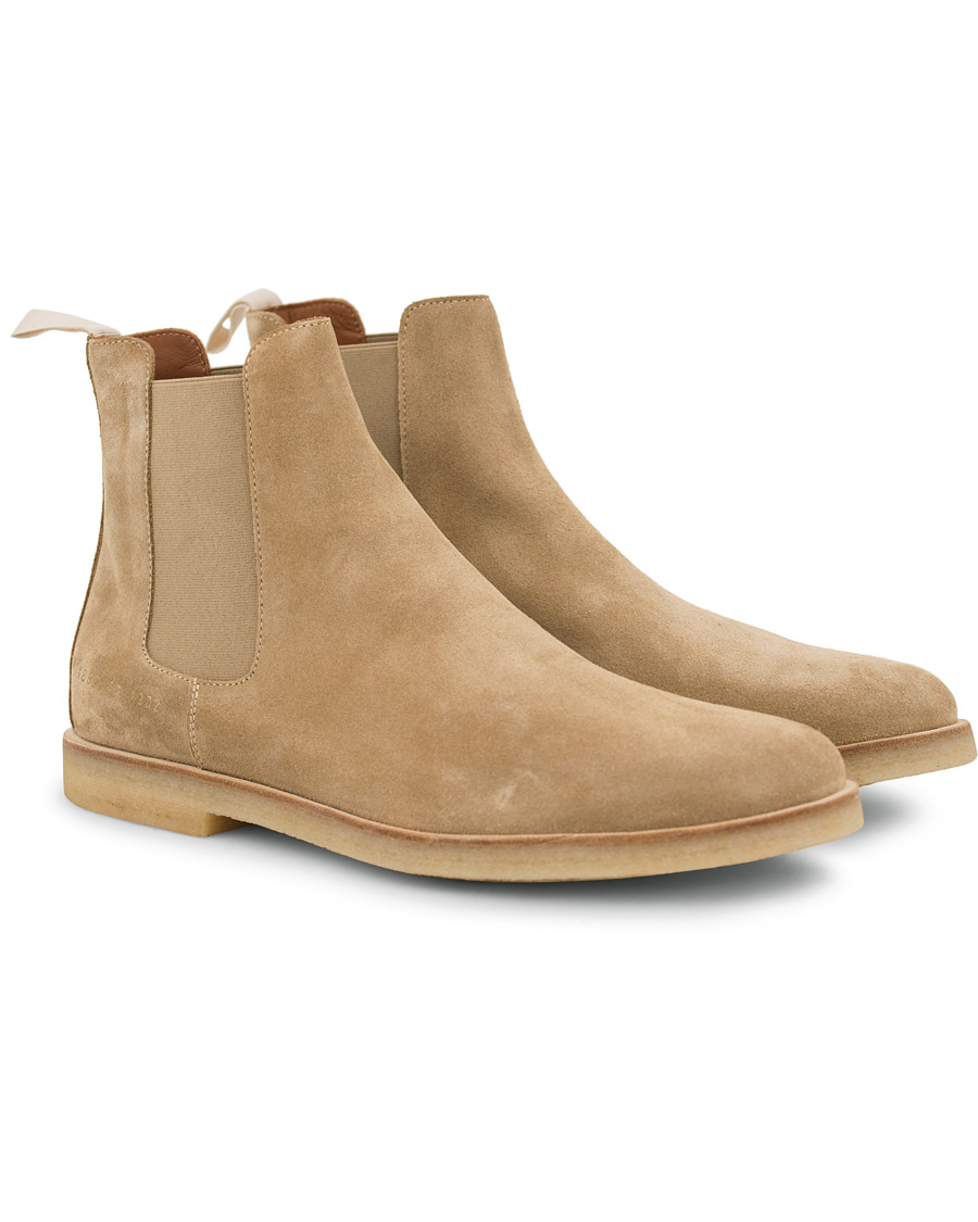 a480b3a2191 Common Projects Chelsea Boot Beige i gruppen Sko / Støvler / Chelsea boots  hos Care of