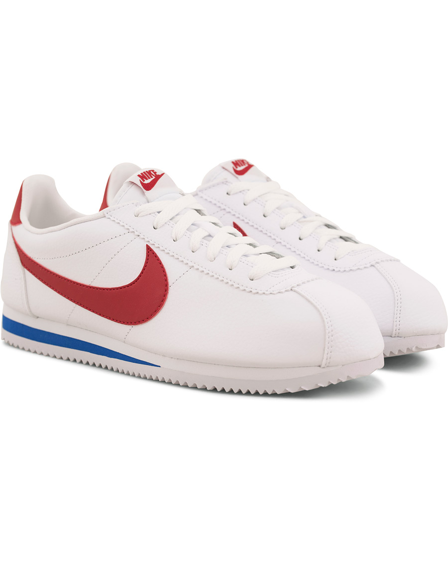 Nike Cortez Leather Sneaker WhiteRed hos CareOfCarl.dk