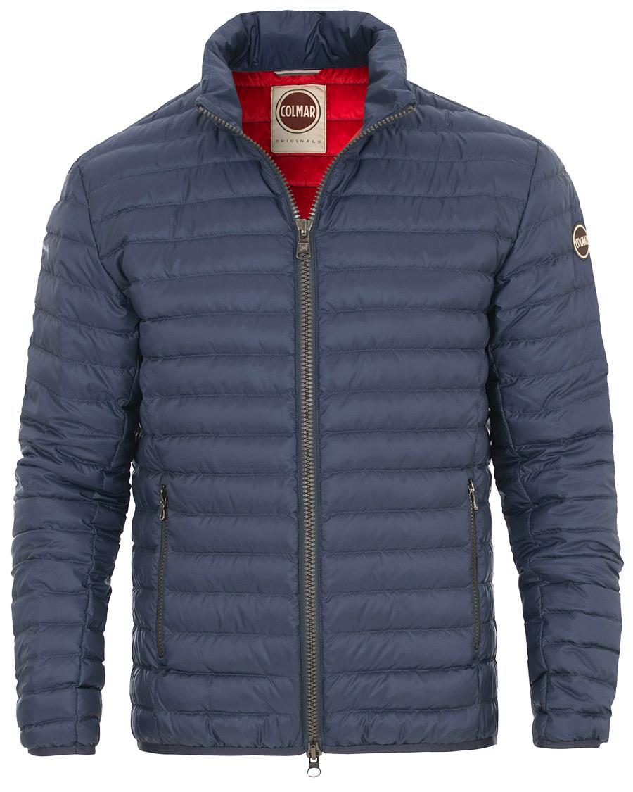 19f48179 Colmar Lightweight Down Jacket Jeans Blue hos CareOfCarl.dk