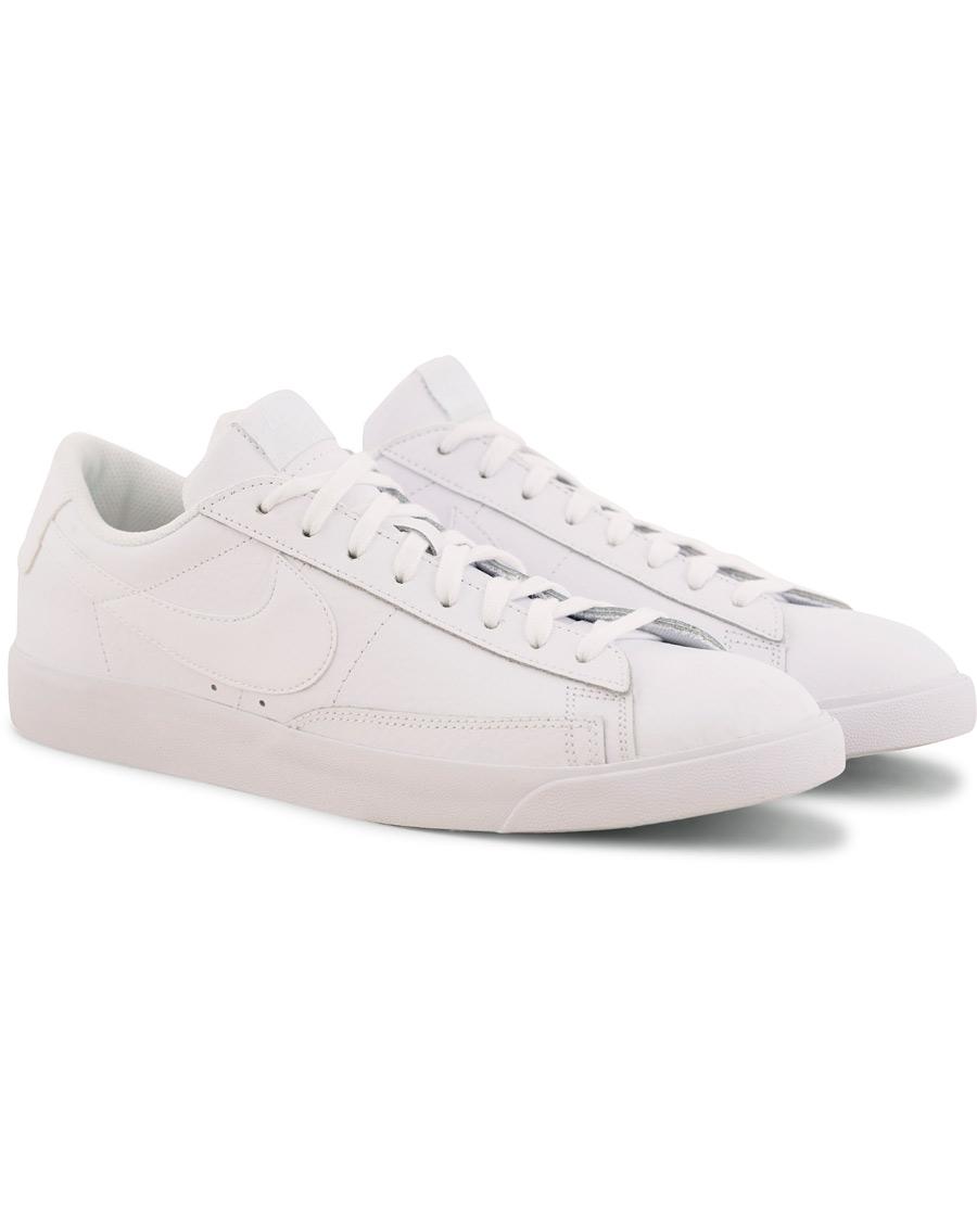 san francisco cd9d1 12100 Nike Blazer Low Leather Sneaker White