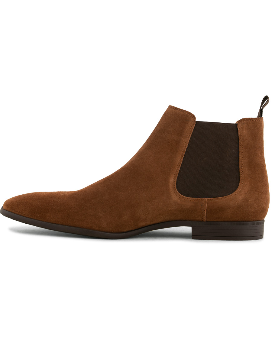 a91e1f16f0f6 PS By Paul Smith Falconer Chelsea Boot Brown Suede hos CareOfCarl