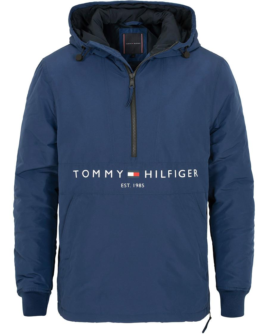 Tommy Hilfiger Padded Anorak Medieval Blue hos CareOfCarl.dk 355748577