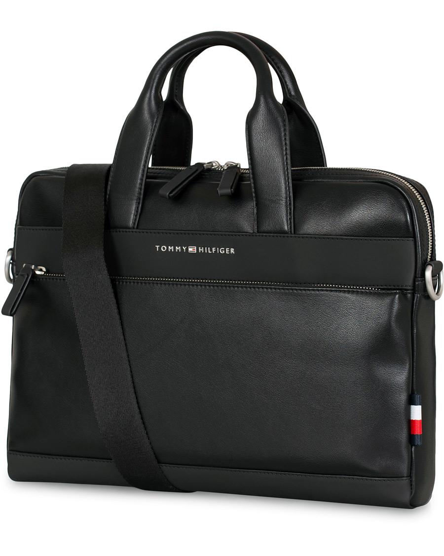 Efterstræbte Tommy Hilfiger City Computer Bag Black hos CareOfCarl.dk WD-21