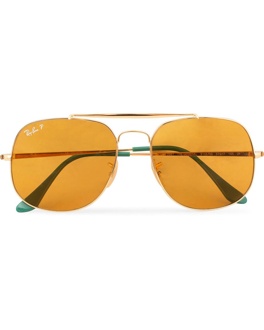 Ray Ban 0RB3561 Sunglasses Yellow Polar