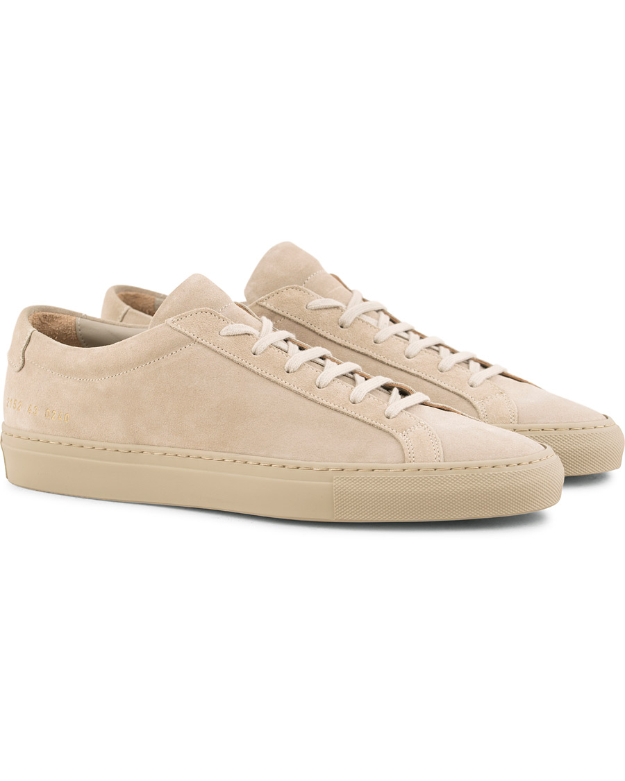 b0da32d92da Common Projects Original Achilles Leather Sneakers Taupe Suede i gruppen Sko  / Sneakers / Sneakers med