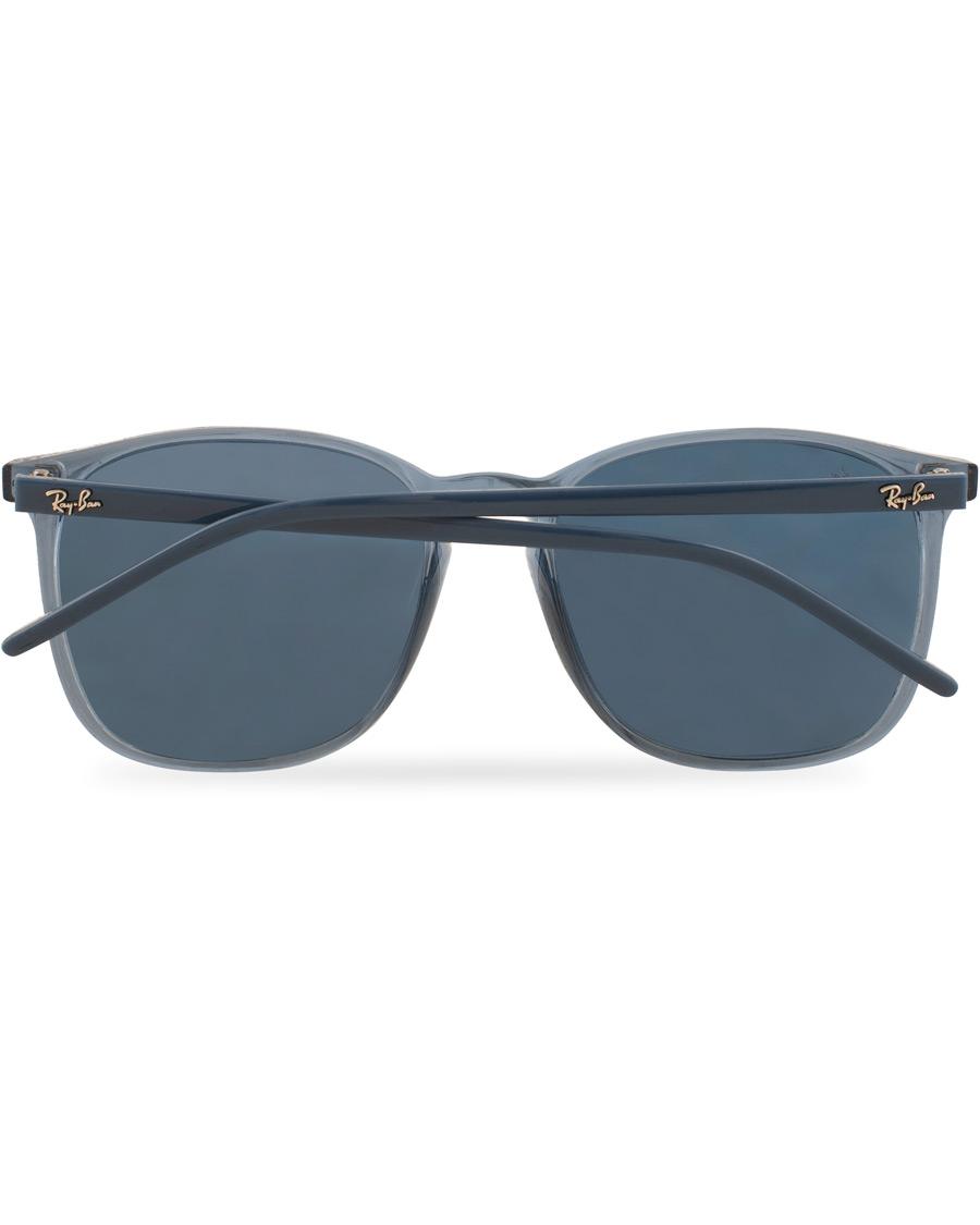 Ray Ban 0RB4387 Sunglasses Crystal Blue