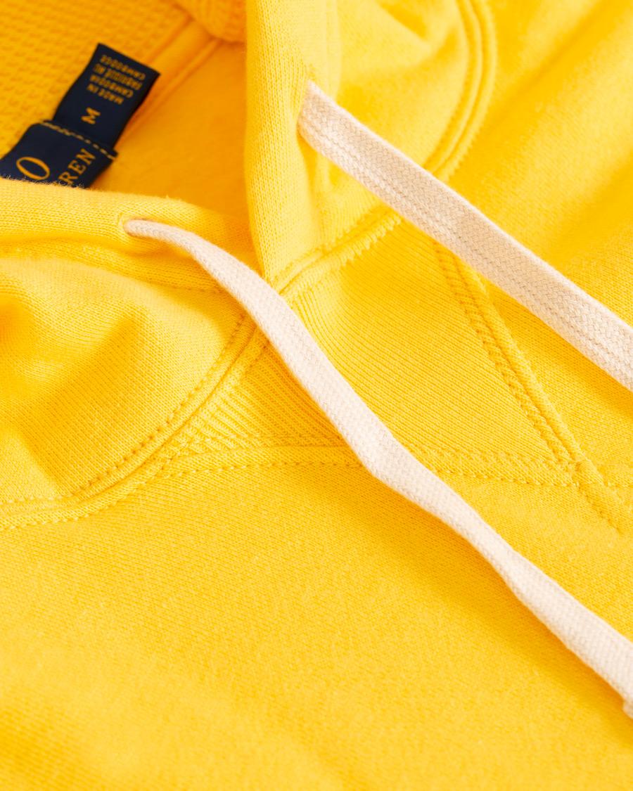 Polo Ralph Lauren Hoodie Chrome Yellow hos CareOfCarl.dk