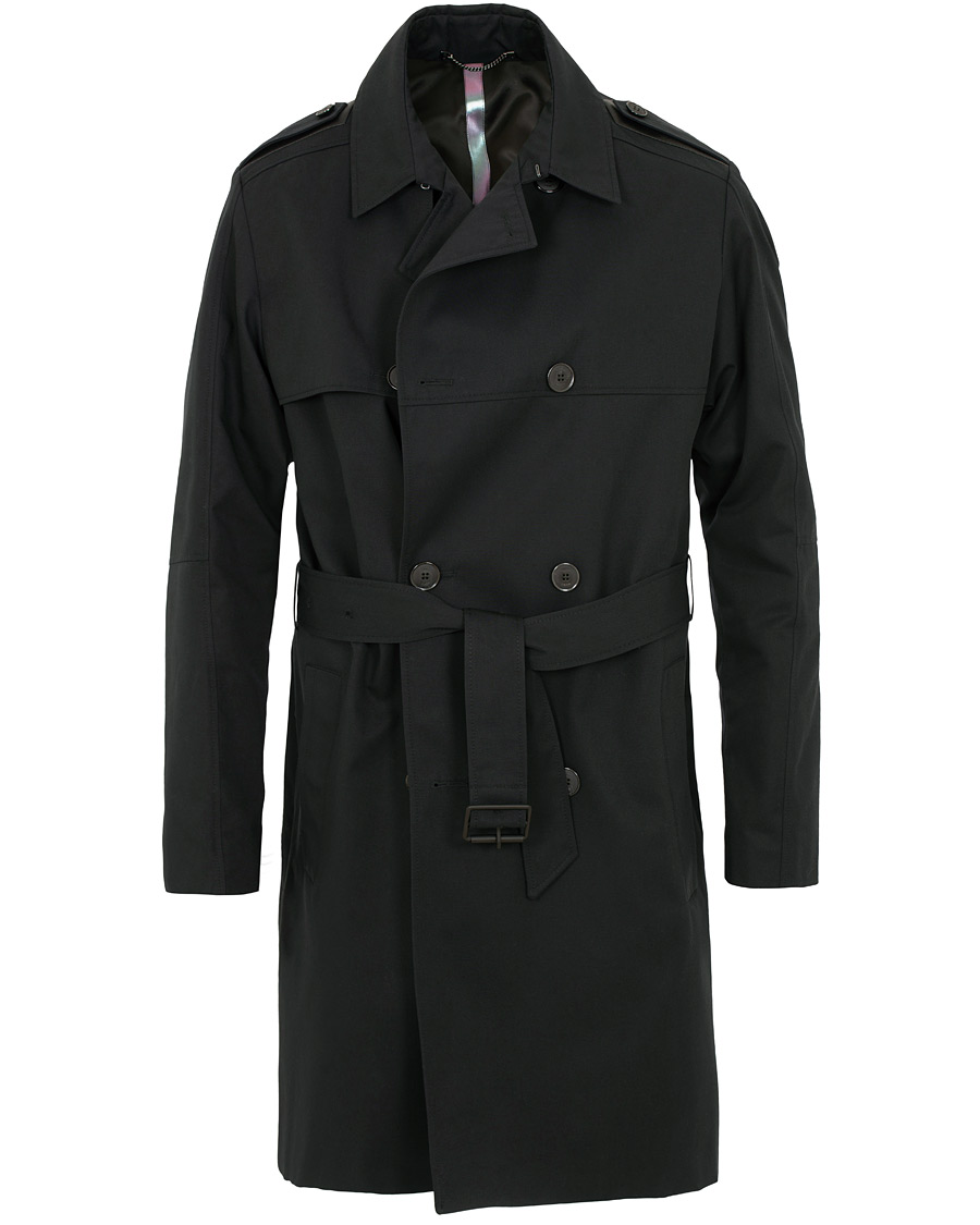 83b670e7 Hugo Maxido Trenchcoat Black i gruppen Tøj / Jakker / Frakker hos Care of  Carl (