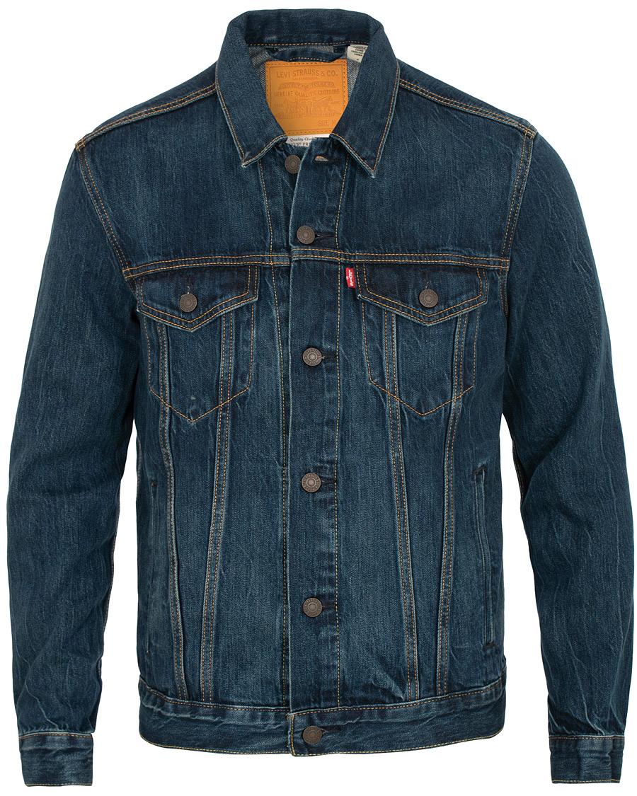 a7493d382c9 Levi's The Trucker Jacket Palmer hos CareOfCarl.dk