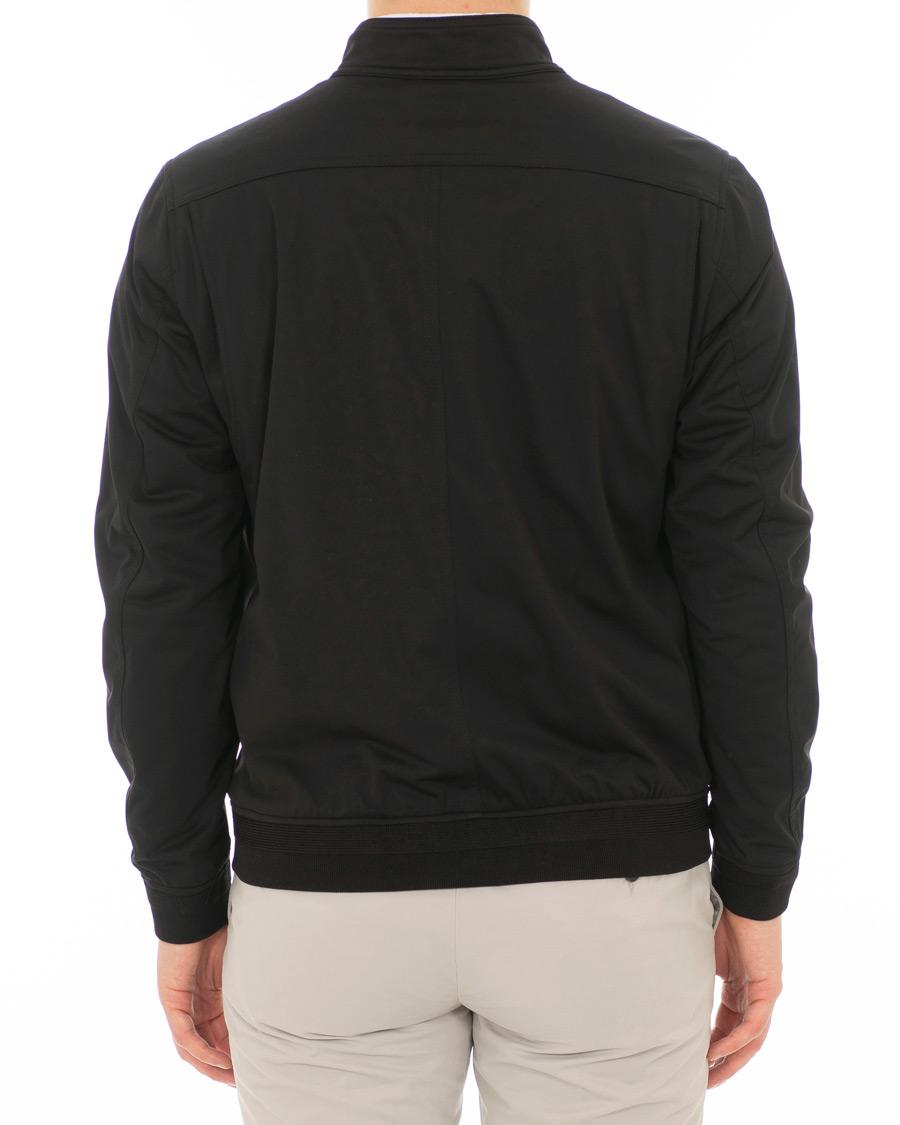 c17f50f74 Oscar Jacobson Harrys Harrington Jacket Black hos CareOfCarl.dk