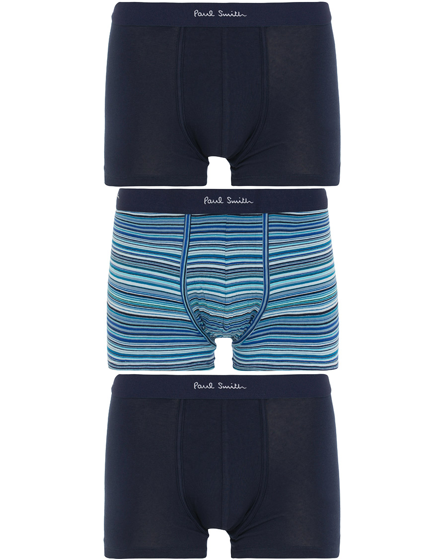 a08e06cc3bb Paul Smith 3-Pack Trunks Navy i gruppen Tøj / Undertøj / Boxershorts hos  Care