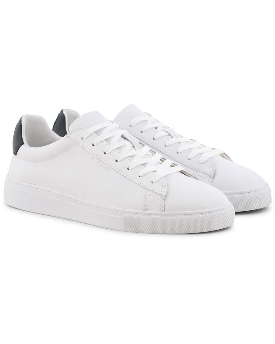 82e72e9fd5d GANT Denver Sneaker White Leather hos CareOfCarl.dk