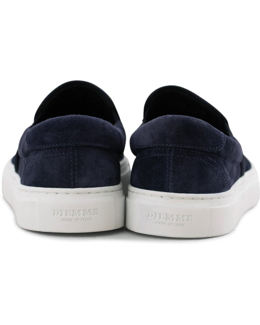 f5e69b24ce3 Diemme Garda Slip On Sneaker Navy Suede hos CareOfCarl.dk