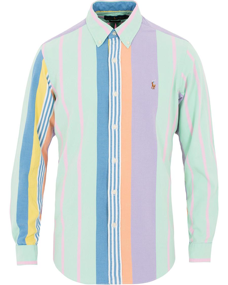 Polo Ralph Lauren Custom Fit Oxford Stripe Shirt Multi