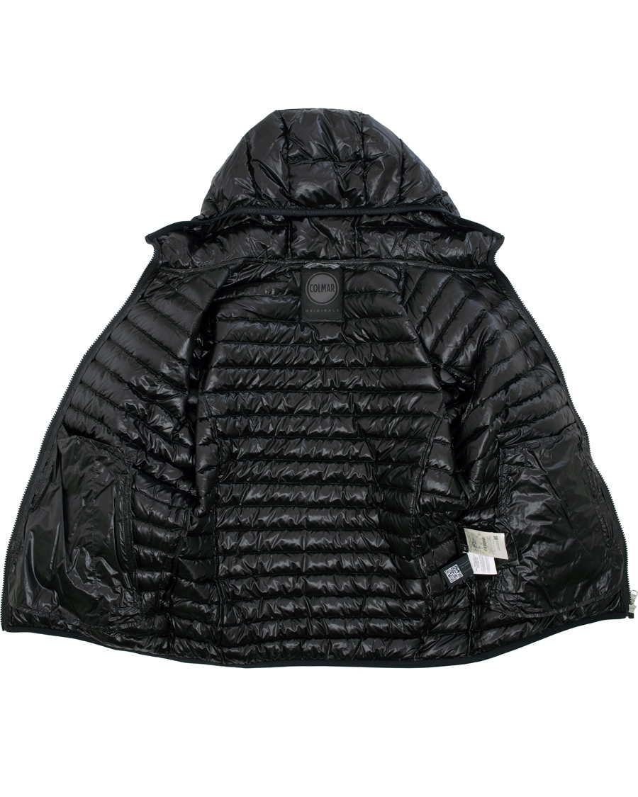 Colmar Behind High Shine Hooded Jacket Black 50