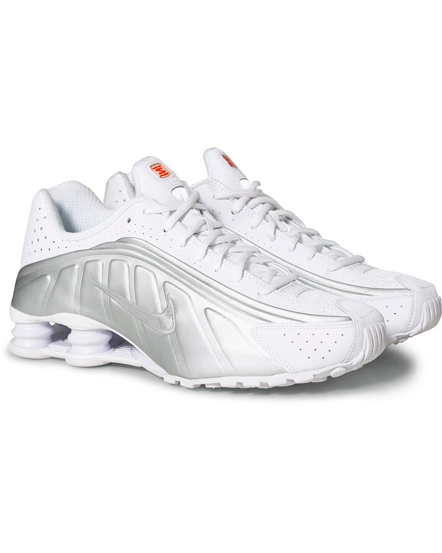Nike Shox R4 Sneaker White US7 EU40