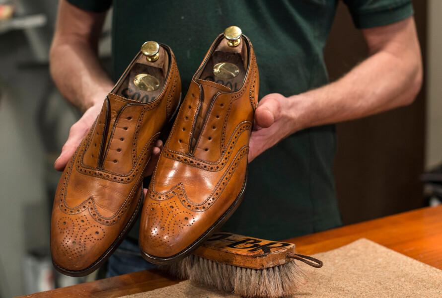 pudse sko