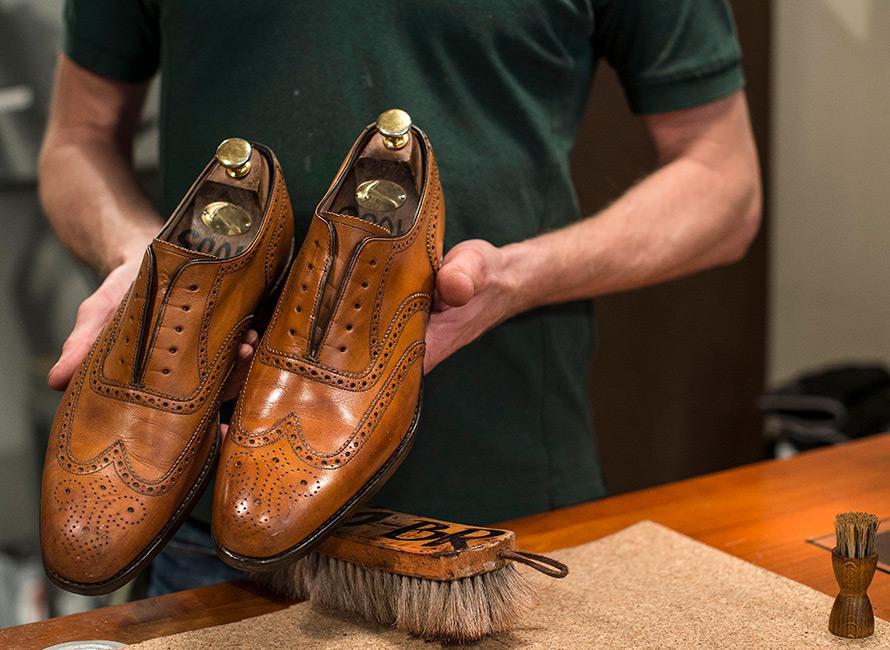 4baef361d77b Vedligeholdelsesguide - Sådan vedligeholder du dine sko