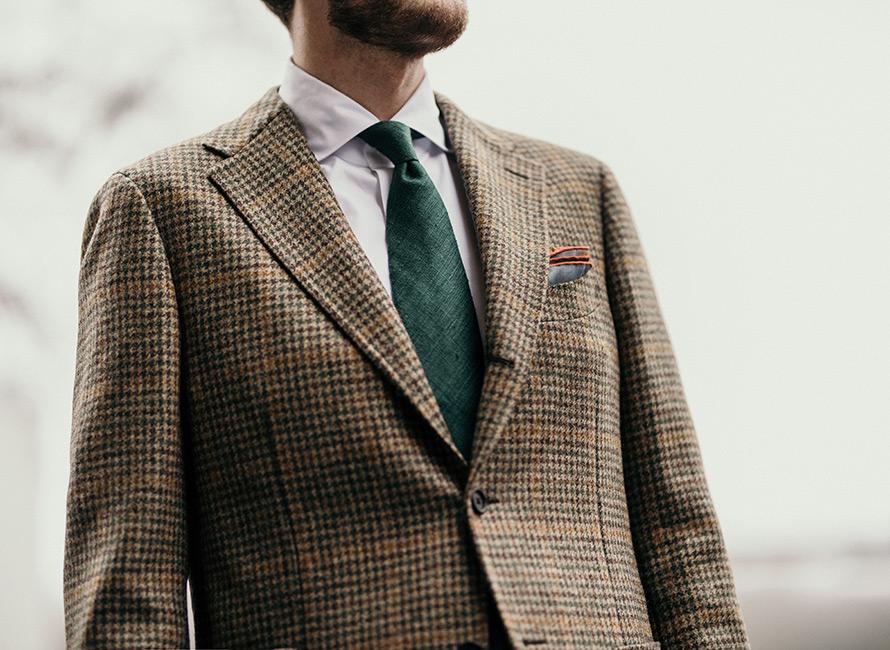 790f38d28d3 Hvordan matcher man slips med skjorte og jakke?   CareOfCarl.dk
